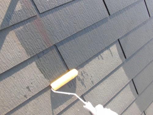 屋根シーラー下塗り
